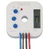 Super-multifunkční relé, 9 funkcí, 4-vodič připojení, výstup triak 0-200VA